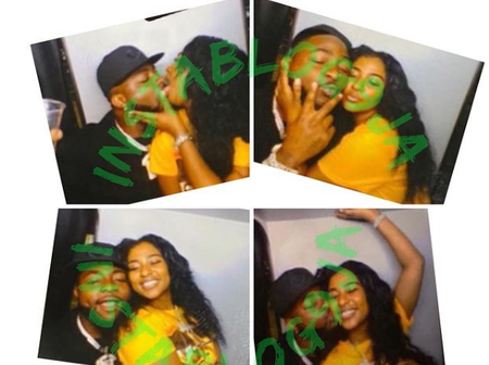 Reactions as Davido flaunts and kisses his new girlfriend online