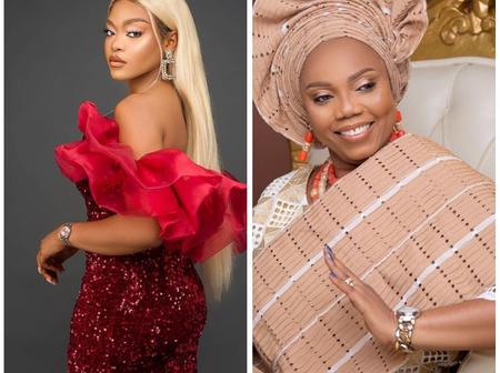 BBN Ex-Housemate Lilo Posts Pictures Of Her Look-Alike Mom In celebration of Her Birthday