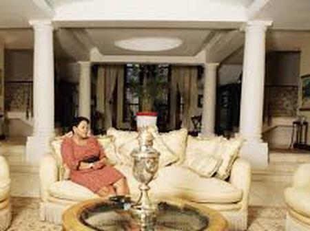 See the luxurious life of Nomvula Mokonyane, and the snaps of her home -fans left green with envy