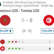 Tunisia u20 reached the Semi-finals after a 4-1 win against Morocco u20 in Africa Cup.(Opinion)