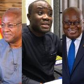'Looking At His Achievements So Far, He Is Ghanaians Only Hope'- Felix Kwakye Finally Reveals