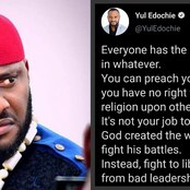 """Focus On Bad Leadership, Not Religion"" -Yul Edochie Warns"