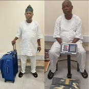 He Thought He Was Wise, See Where This Man Hid 3 Parcels Of Cocaine That Got Him Arrested