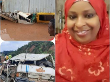 See Photos From Accident Scene That Just Claimed The Life Of A Nigerian Female Politician