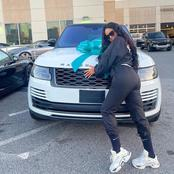 Ex BBN Star Nina joins Range Rover gang as she receives a car gift from her hubby as new month gift