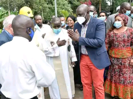 DP Ruto Received Like a King as Hustler Nation Takes Dagoretti By Storm.