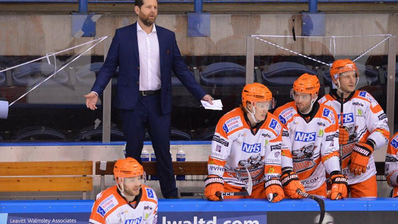Coventry Blaze 5 Sheffield Steelers 7 - Late fightback repelled by Fox's leading men