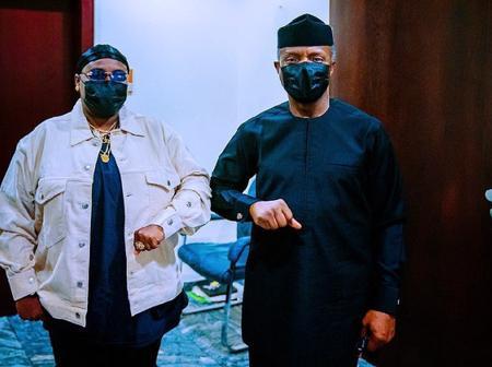 Osinbanjo hosts the (Teni) sugar mummy of Lagos in Aso rock (photos)