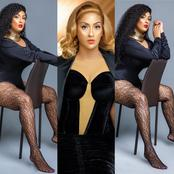 See pre birthday photos of Juliet Ibrahim which is causing stir on social media