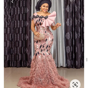 Married And Single Ladies, Checkout These 50 Aso ebi Lace Styles You Would Love