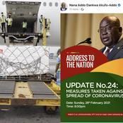 COVID-19 Vaccines: President Nana Addo Dankwa Akufo-Addo To Address The Nation Tonight