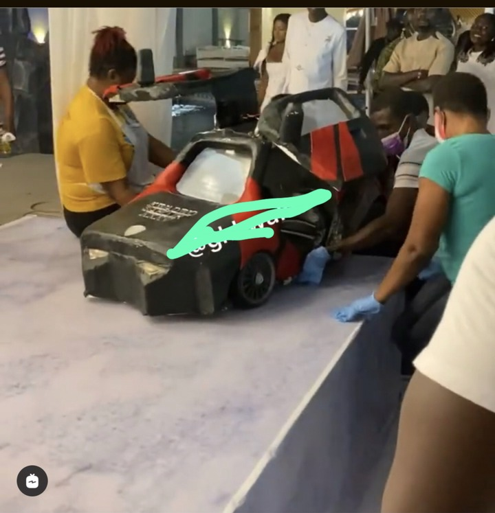 d6a2e869b27543cd939c905647717daa?quality=uhq&resize=720 - Kwadwo Safo Jnr Celebrates His Birthday With A Lamborghini Cake After Building The Same Type Of Car