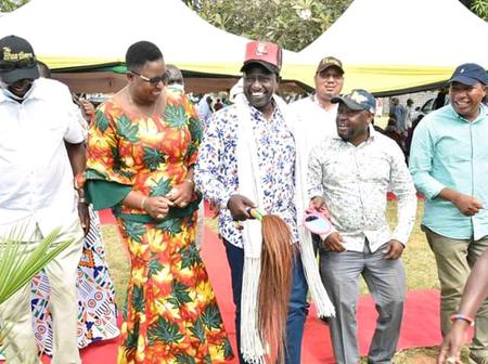 DP Ruto Takes Kilifi By Storm In The Company Of 126 Members of Parliament