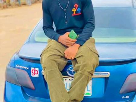After A Young Man Survided An Accident While Returning To Lagos, Read What He Said