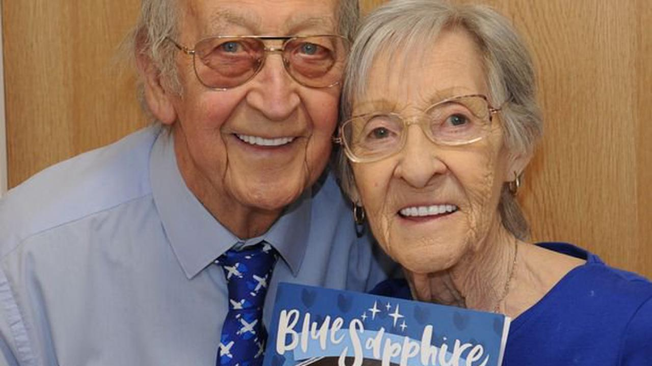 Well couple happy feeling blue