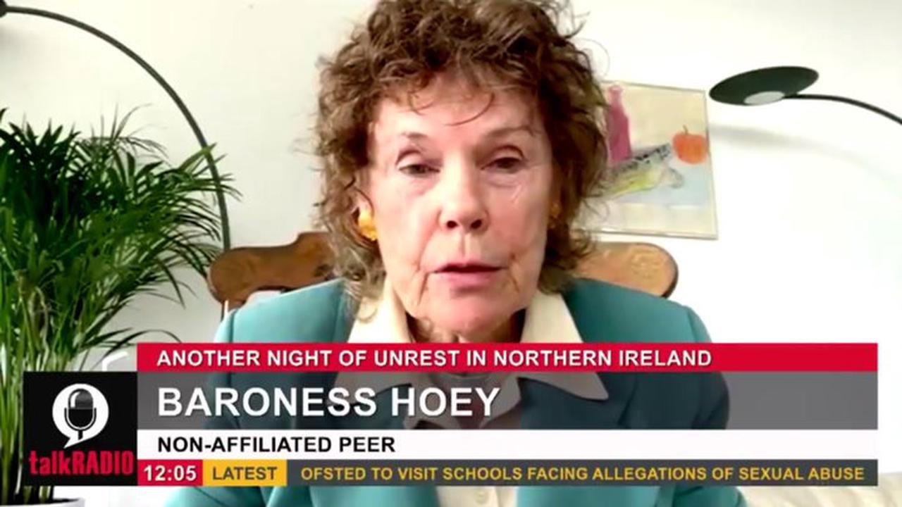 Baroness Hoey slams UK-EU protocol amid Belfast violence 'We haven't got Brexit'