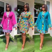 See Photos Of The Best 20 Ankara Wrap Dress Design For Ladies To Try This New Month