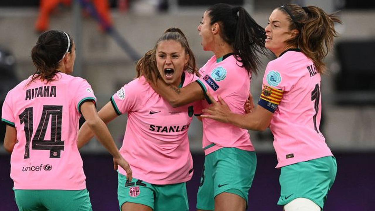 Chelsea Women 0-4 Barcelona Femeni: Ruthless first half sees Barca win first Women's Champions League title