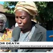 Ezekiel's Mother Breaks into Tears as she Narrates how his son was Killed For not Wearing a Mask.
