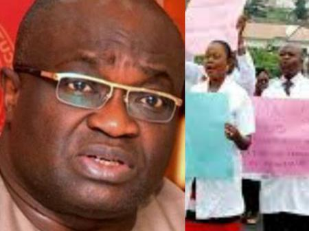 Governor Ikpeazu makes a promise to resident doctors in Abia State