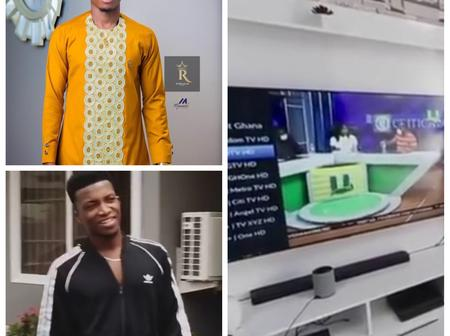 Kofi Kinaata Has Proved His Fans Wrong As He Posted His Plush Mansion That Is Causing Stir Online