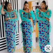 Are You A Working Class Lady? Checkout Some Simple Ankara Gown Styles You Should Sew