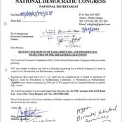 The NDC has finally admitted defeat through these demands.
