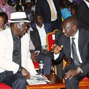 Reasons That May Make Ruto and Raila not to Form a Coalition
