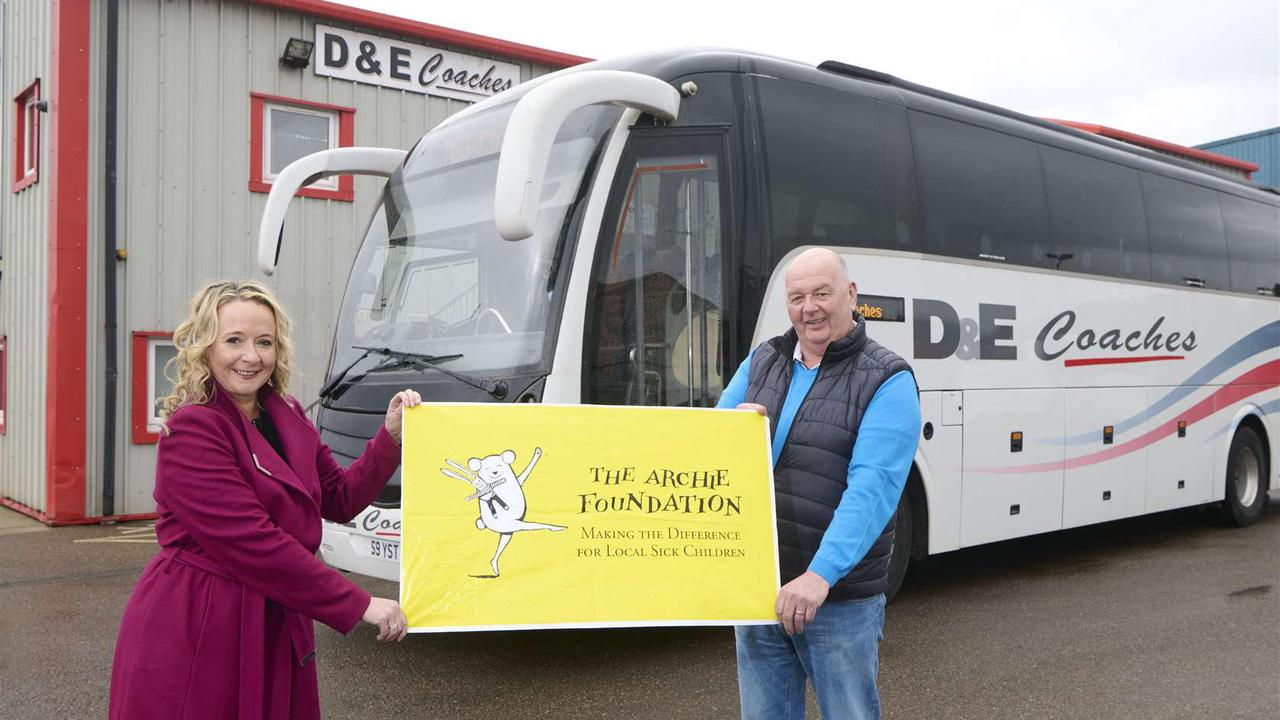 Children's hospital charity wheels in a Highland patron set to be a driving force for the cause