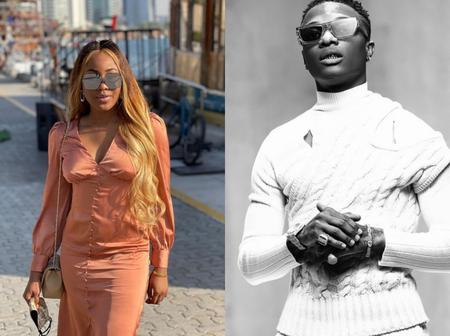 """""""Wizkid is the only star boy"""" Erica reveals in an interview"""