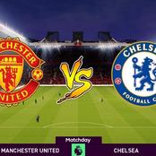 Details About Manchester United VS Chelsea's Tie