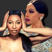 Was this necessary? Kelly Khumalo Throws a strong one at Enhle Mbali
