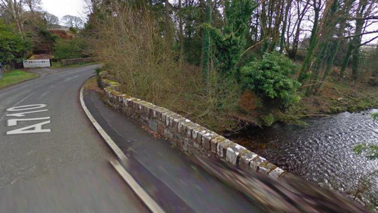 Cyclist dead after crash with van in Dumfries