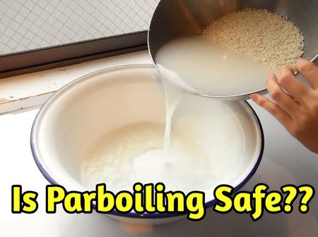 Reason why you should parboil rice
