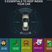 Revealed: 5 Key Essentials That Must Have In Your Car When Going For a Journey