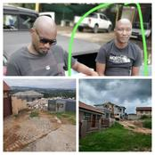 Must see| A Man Who Hired A TLB To Demolish A House He Built For His Girlfriend After She Dumped Him