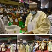 Adamu Muazu Was Sighted at the 2021 Northeast Zonal Congress of the PDP [Photo]