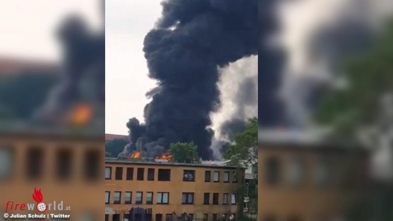 D: Brennende Elektrobusse in Fahrzeugdepot in Hannover