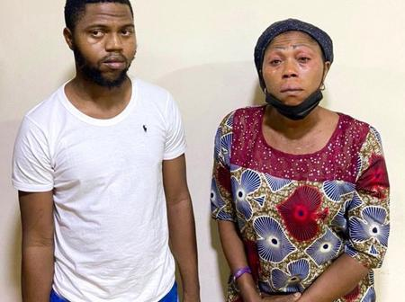 My Mother Is Innocent, I Am Only Using Her Bank Account To Scam People— Suspect Tells EFCC Officials