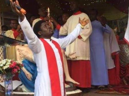 Reverend Father Ebube Muonso releases Easter Sunday message