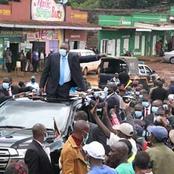 Photos: What Nyeri Residents Did To Uhuru That Has Left Kenyans Talking