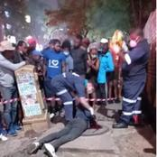 Blood Shed Continues At Hillbrow As Zulu's Slays Zimbabweans''Leave Our Country