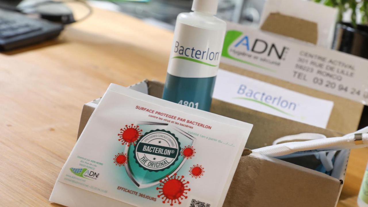 À Roncq, la société ADN commercialise un virucide efficace pendant un an
