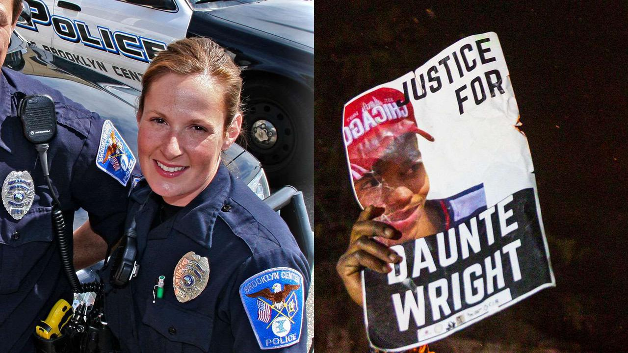 Ex-officer charged with second-degree manslaughter in fatal shooting of Daunte Wright