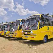 Cherangany Constituency Receives Seven School Buses