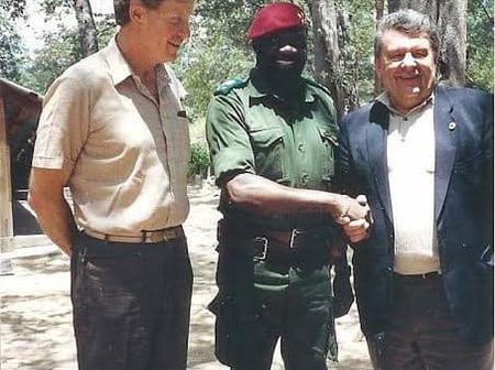 Jonas Savimbi is the product of the CIA, and Cyril Ramaphosa is the product of the Apartheid regime