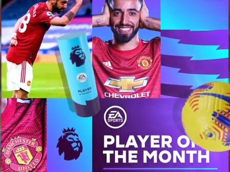 England star reacts to Bruno Fernandes' statement after winning another EPL player of the month