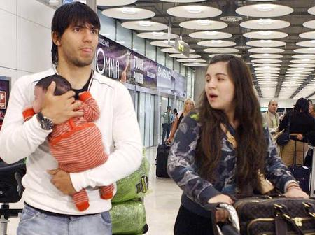 See Photos Of The Late Maradona's Daughter Who Was The First Wife Of Manchester City Forward, Aguero