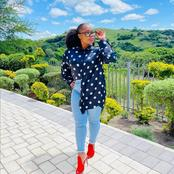 Makhumalo Mseleku causes frenzy with her latest pictures showing off her weight loss.