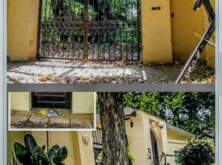 Nelson Mandela's House At Johannesburg Collapse And Breakdown In Some Part (Photos)